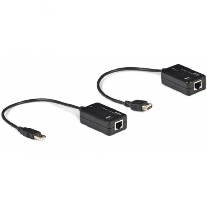 FO-358 Extensión de USB por cable Cat 5e/6