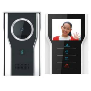 Vídeo intercomunicador de 4 hilos para uso en exterior