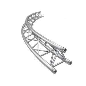 Truss circular triangular