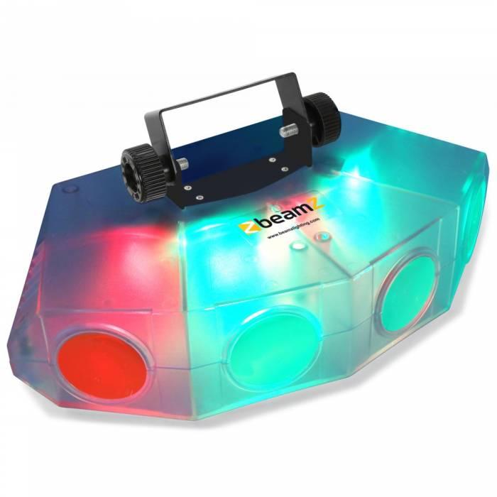 BeamZ Mini 4 Head Moon translucido por LED