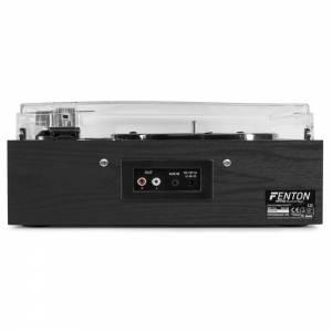 Fenton RP175B Giradiscos y Bluetooth acabado madera oscura o clara USB