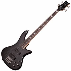 Schecter Stiletto Extreme-4 See Thru Black STBLK