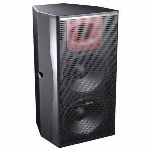 """PF-152 Caja acústica 2x15"""" + motor 1"""" 800w Audiocenter"""