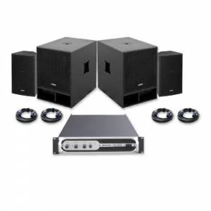 Sistema sonido VIBE-10 1200W JBSYSTEMS