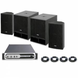 Sistema sonido VIBE-12 1500W JBSYSTEMS