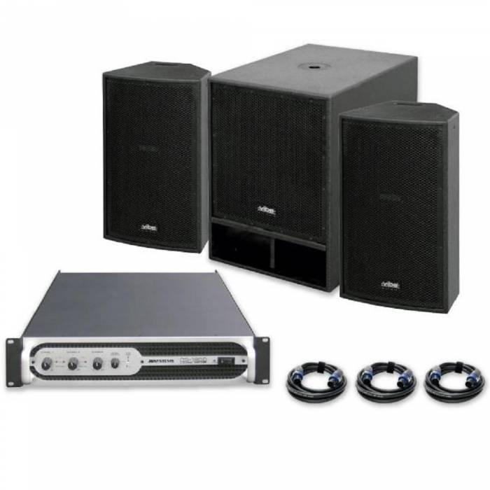 Sistema sonido VIBE-12 1200W JBSYSTEMS