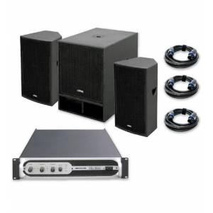 Sistema sonido VIBE-15 1500W JBSYSTEMS