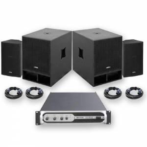Sistema sonido VIBE-10 (1200W) JBYSTEMS