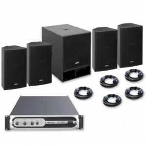 Sistema sonido VIBE-12 + VIBE-18 1800W JBSYSTEMS