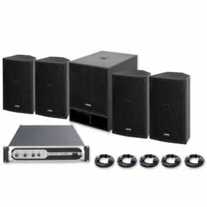 Sistema sonido VIBE12 + VIBE-18 (1500W)
