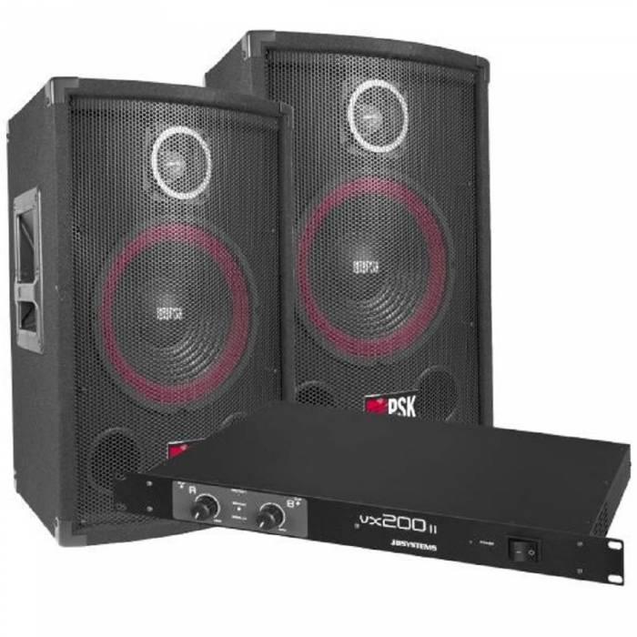 Sistema sonido 200W PSX-08 + VX-200