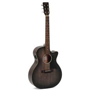 Guitarra acústica Sigma GMC-STE-BKB+