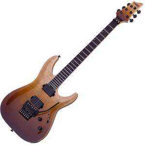 Guitarra eléctrica Schecter SLS ELITE C-1 FR ATQFB