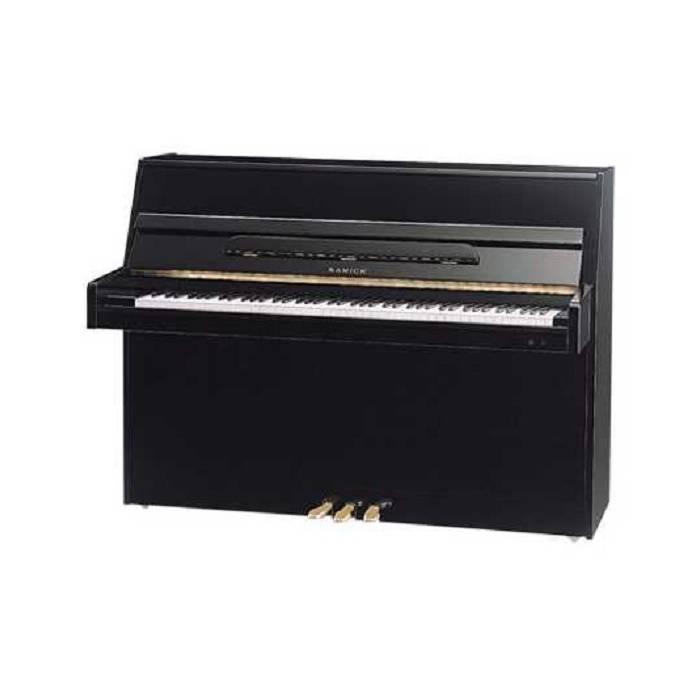 Piano acústico vertical JS-110D Negro POL