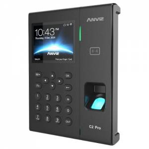 Control horario biométrico con RFID, WIFI y POE