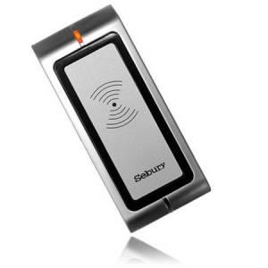 Lector de tarjetas RFID metálico antivandálico