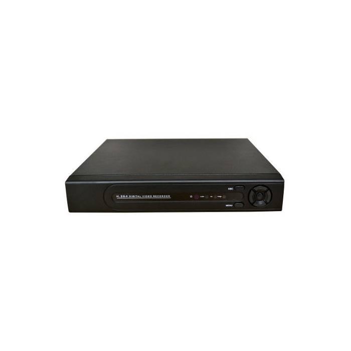 DVR híbrido 8 canales hasta 4K