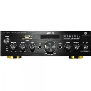 Amplificador HiFi estereo con reproductor