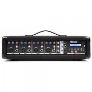 Mezclador de 4 canales amplificado