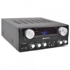 SkyTronic Amplificador Karaoke con Display Negro