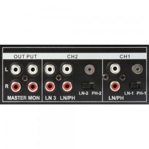 Meclador para rack de 2 canales