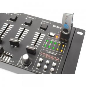 Mezclador de 6 canales con USB/MP3