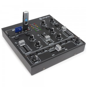 Mezclador con efectos para DJ