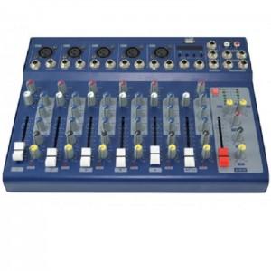 Mesa para directos de 6 canales