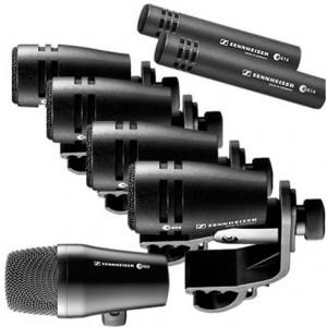 Completo pack de micrófonos para percusión