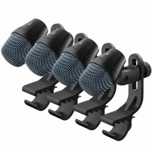 Conjunto de micrófonos profesionales para instrumentos