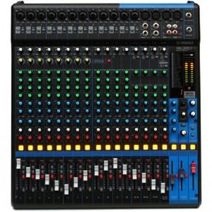 Mesa de mezclas Yamaha 20 canales y efectos