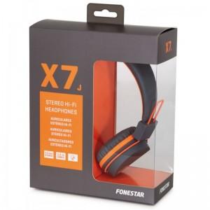 Auriculares Hi-Fi baratos color naranjas