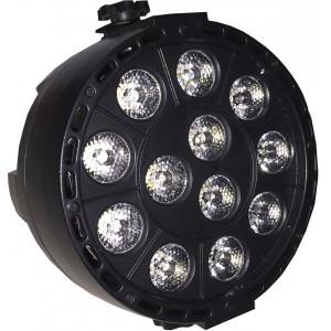 Proyector tipo PAR mini de 36 W LED RGBW con batería