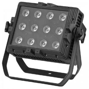 Foco de led con batería para exterior de 144 W LED RGB