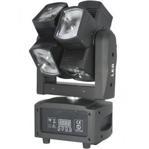Cabeza móvil de doble eje con 8 proyectores BEAM de 12 W LED