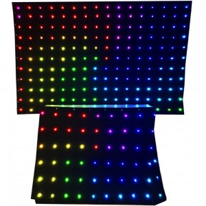 Kit de 2 pantallas LED por DMX