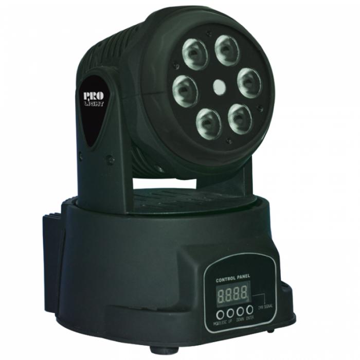 Cabeza móvil WASH de 60 W LED con mezcla de color RGBW y efecto láser