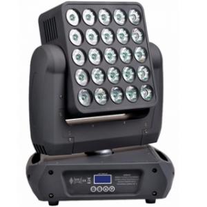 Cabeza panel móvil 250 W LED RGB + blanco, 25 píxeles beam y giro