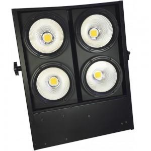 Cegadora cuádruple de 400 W LED blanco