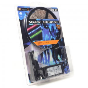 BeamZ Kit de cinta LED 5m Azul 60 LEDs/m IP65