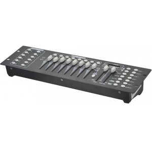 Controlador universal DMX-512 de 192 canales