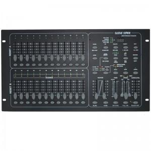Controlador universal DMX-512 de 24 canales
