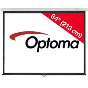 Optoma DS-3084PMG+ Pantalla de proyección